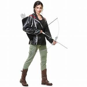 Katniss Everdeen Halloween Costume - Mockingjay Dress And ...