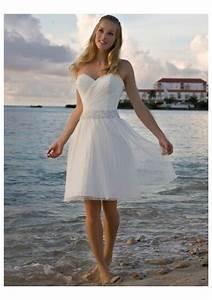 Short wedding dresses beach dress fa for Beach wedding bride dresses
