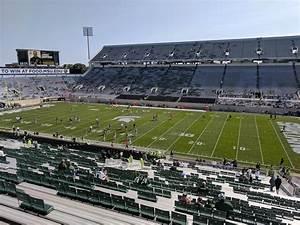 Michigan State Spartan Stadium Seating Chart Spartan Stadium Section 22 Rateyourseats Com