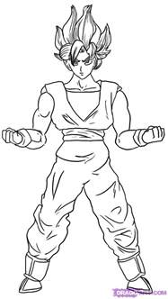 How to Draw Dragon Ball Z Goku
