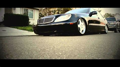 bagged mercedes s class bagged s class s430 youtube