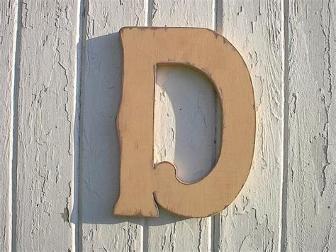 wooden wall hanging personalized letter   nursery