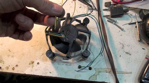 wire cpu cooling fan work youtube