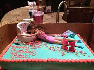 Drunk Barbie cake! OMG that's too funny | Funny Stuff ...