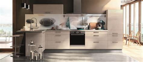poubelle cuisine ouverture automatique cuisine contemporaine américaine cuisines cuisiniste aviva