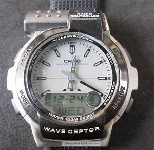 Radio Controlled Uhr Bedienungsanleitung : casio wave ceptor funkuhr radio controlled analog digitalanzeige uhr l uft ~ Watch28wear.com Haus und Dekorationen