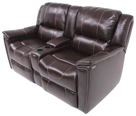 recliner with console payne rv dual reclining sofa w center console