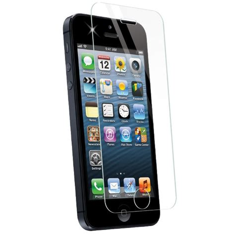 iphone 5 glass screen protector apple iphone 5 5s screenguardz 174 glass screen