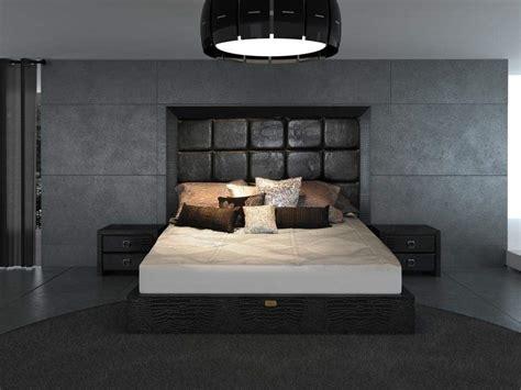 Unique Leather Contemporary Platform Bedroom Sets Mesa