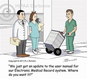 electronic medical records cartoons ehr emr cartoons With medical documentation and the electronic health record
