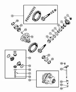 2006 Jeep Grand Cherokee Bearing Kit  Bearing Package