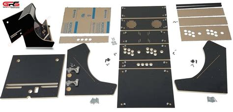 Bartop Cabinet Kit by Bartop Arcade Cabinet Kit Black Easy Assembly Hardware