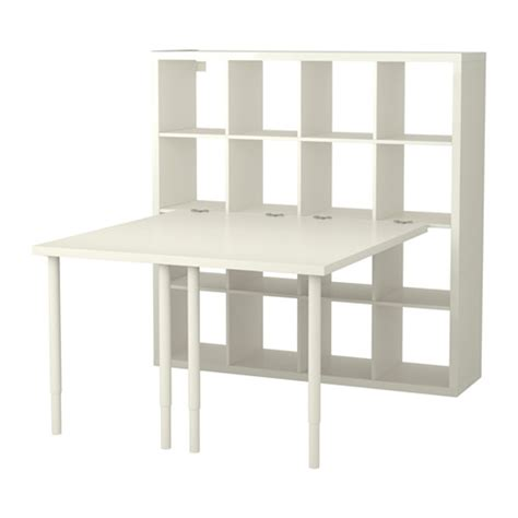 kallax bureau kallax combinaison bureau blanc ikea