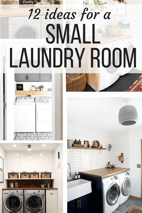 small laundry room ideas organization more