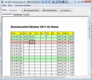 Rechnung Unterschreiben : stundenzettel 1 0 shareware und freeware f r windows ~ Themetempest.com Abrechnung