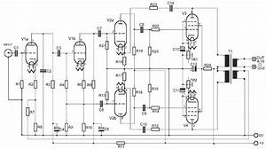 35w tube power amplifier circuit with el34 circuit schematic With create natural sound using ic mm5837 electronic circuits schematics