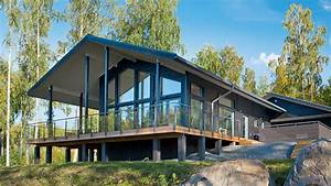 maison en kit beton maison prefabriquee modulable beton With maison en fuste prix 1 maison en bois plein pied de 134 m2 madrier fuste toulouse
