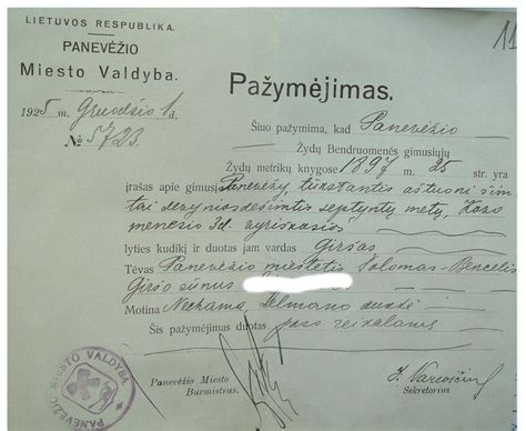 lithuania internal passports