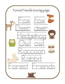 forest animals preschool theme 17 best images about curriculum lesson plans on 891