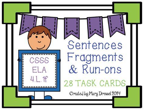 correcting sentence fragments and run ons worksheet 4th