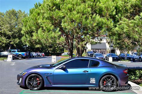 Maserati Granturismo Spotted In Newport Beach, California