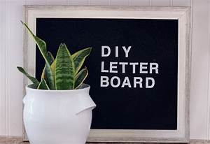 how to make a felt letter board for under 10 With felt letter board