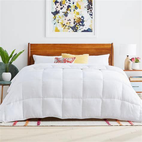 Cal King Alternative Comforter by Linenspa White Cal King Alternative Microfiber