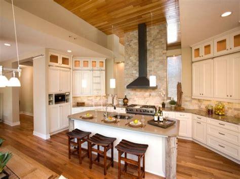 Kitchen Backsplash No Cabinets by Bright Colored Kitchens Brick Kitchen Backsplash With