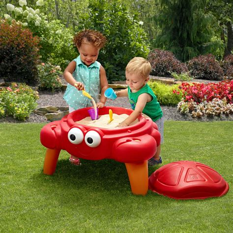 step 2 crabbie sand table crabbie sand table kids sand water play step2