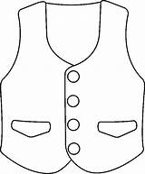 Vest Clip Coloring Dibujos Printablecolouringpages Larger Credit sketch template