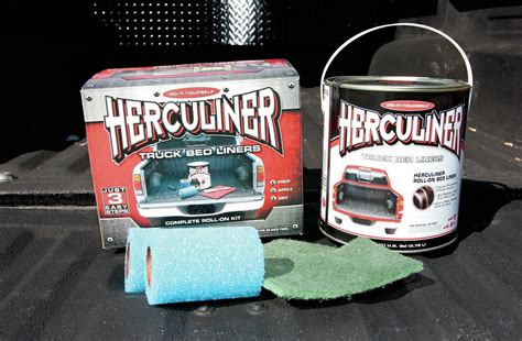 herculiner diy roll  bedliner kit