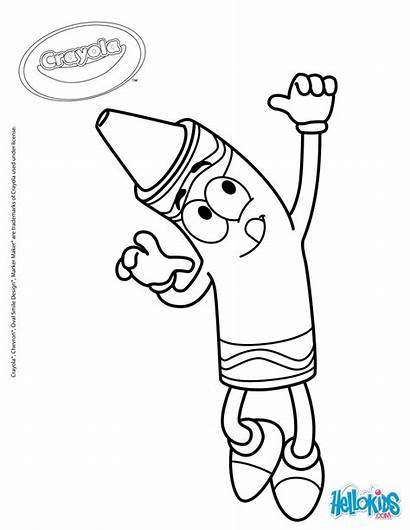 Crayola Coloring Pages Marker Printable Markers Halloween