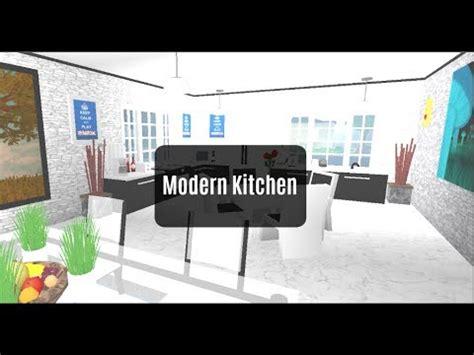 Roblox  Bloxburg Room Designs Modern Kitchen Ep3