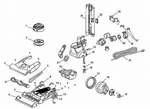 Eureka As5203a Air Speed Zuum Vacuum Parts