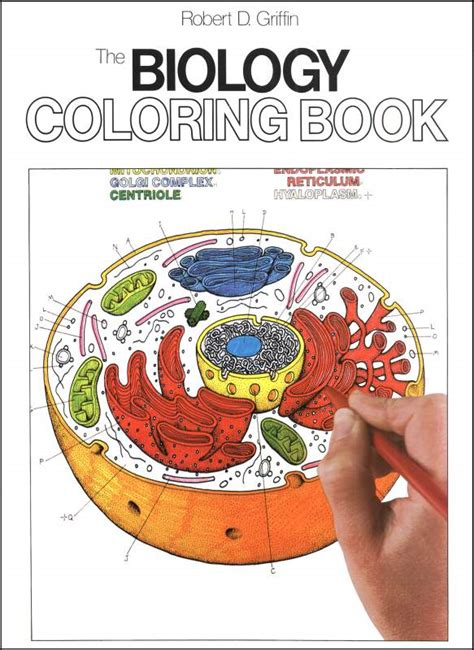 biology coloring book  details rainbow resource