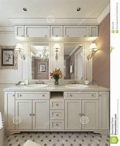 Style De Salle De Bain : style de classique de vanit de salle de bains ~ Teatrodelosmanantiales.com Idées de Décoration