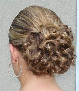 Simple Bridal Updo Wedding Hairstyle Photojpg