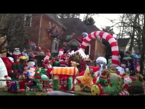 christmas outdoor inflatable extravaganza youtube