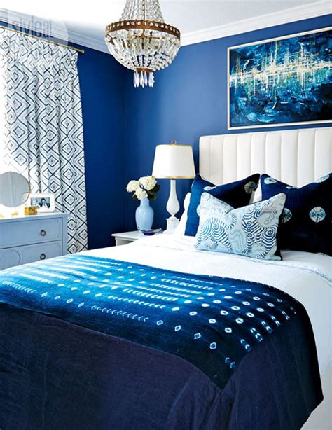 Royal Blue Bedroom by 14 Beautiful Blue Bedrooms Style At Home