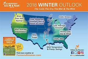 Farmers Almanac 2018 Winter Weather Prediction / Forecast ...