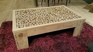 Fabrication Avec Palette : fabrication table basse maison ~ Preciouscoupons.com Idées de Décoration