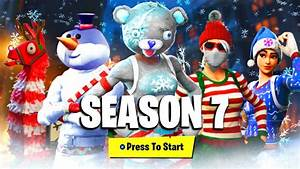 FORTNITE SEASON 7 BATTLEPASS SKINS REWARDS LEAKED NEW FORTNITE SEASON 7 ITEMS UNLOCKS