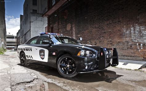 Dodge Charger Pursuit 2018 Widescreen Exotic Car Image 04