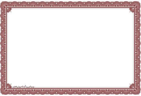 certificate templates blank 5 blank award certificates blank certificates
