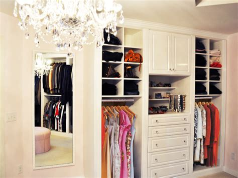 master closet  white high gloss traditional closet
