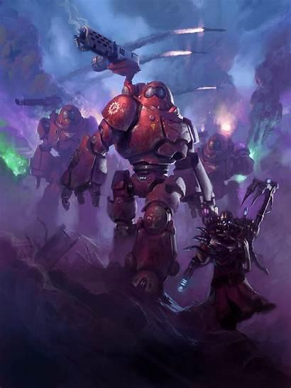 40k Warhammer Mechanicus Cult Adeptus Space Artwork