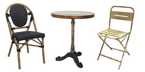 chaise de terrasse pour restaurant mobilier pour terrasses de restaurants de bars d hôtels