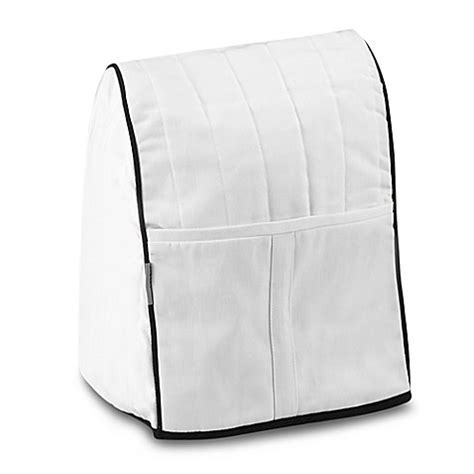 Buy KitchenAid® Stand Mixer Cover in White from Bed Bath