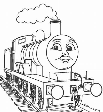 Train Coloring Thomas Cool2bkids Printable Express Polar