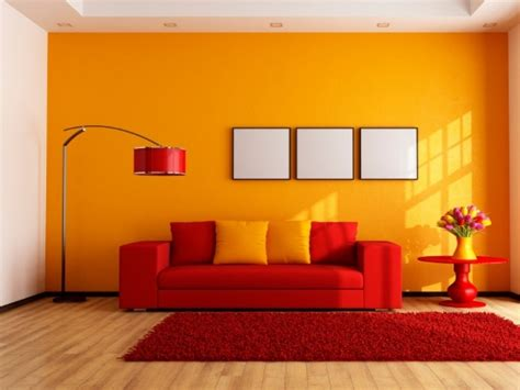 paint color combinations with orange images on lovely